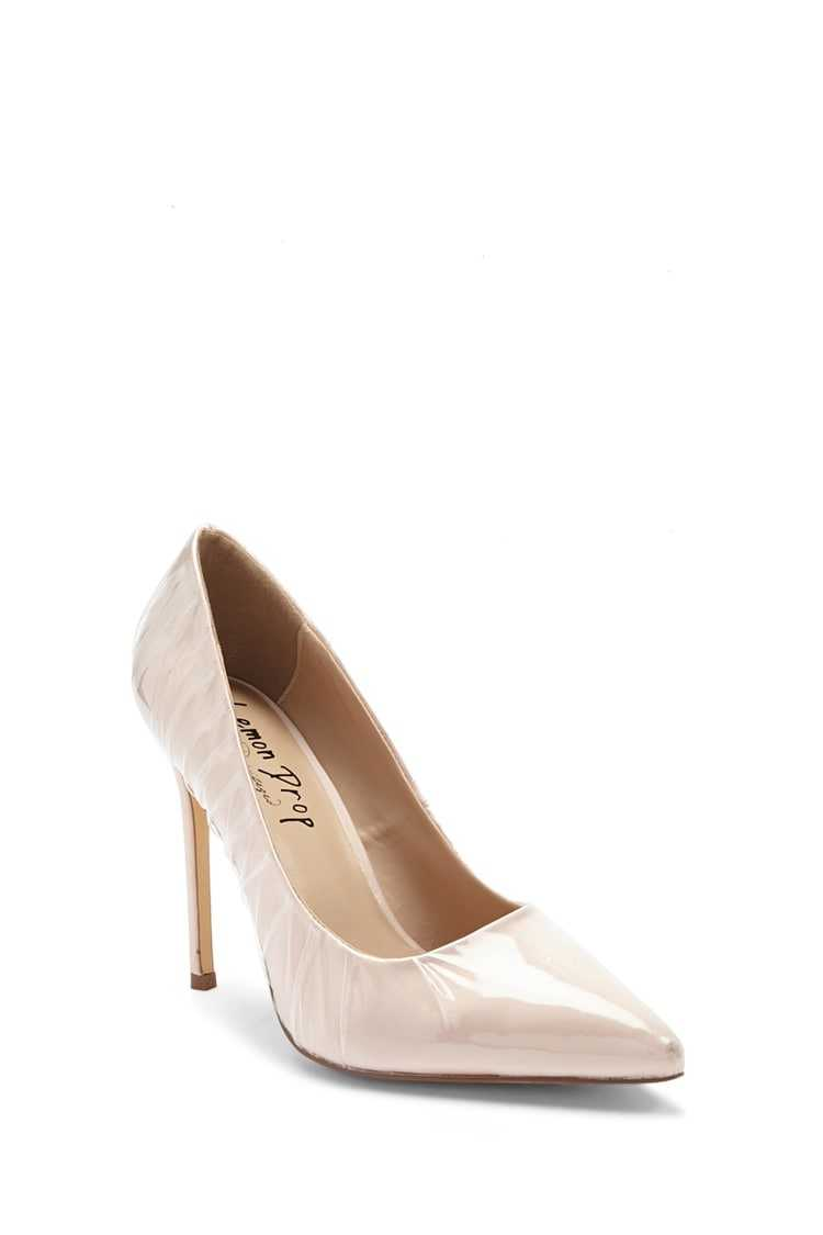 Forever 21 Lemon Drop by Privileged Pointed Toe Pumps
