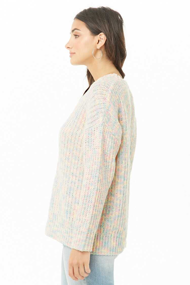 Forever 21 Marled Ribbed Sweater
