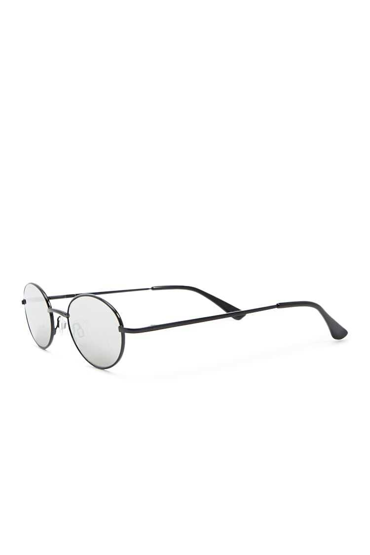 Forever 21 Metal Oval Sunglasses