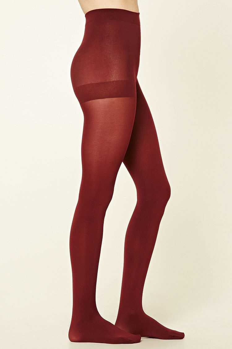 Forever 21 Opaque Tights - 2 Pack