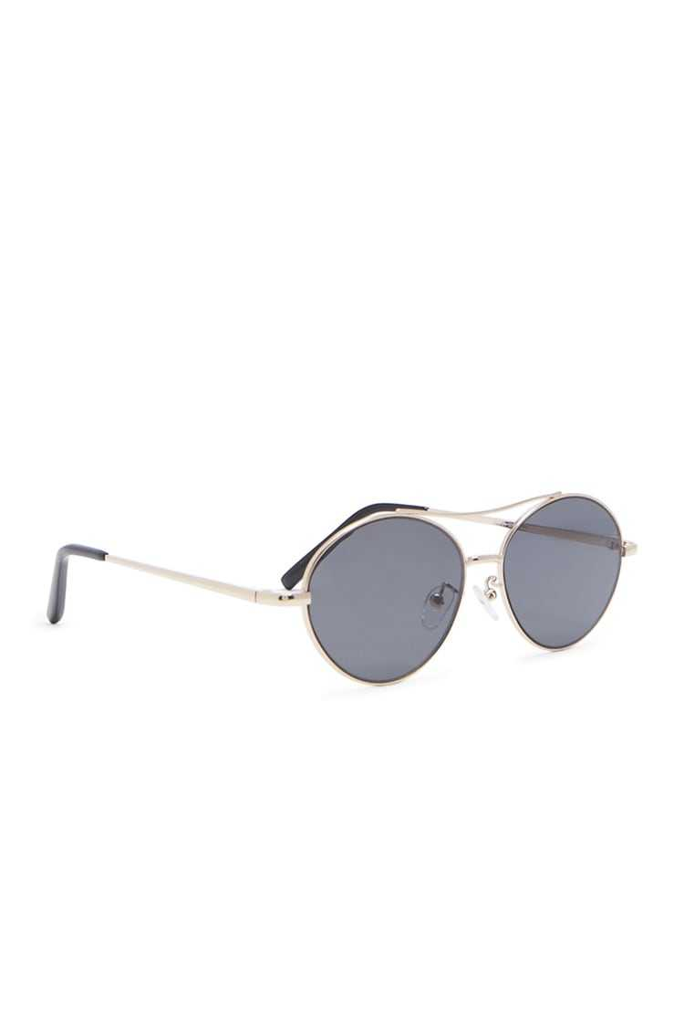 Forever 21 Oval Metal Sunglasses