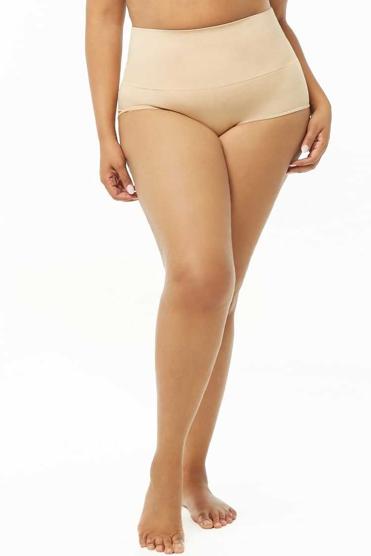 Forever 21 Plus Size Seamless Knit Panty