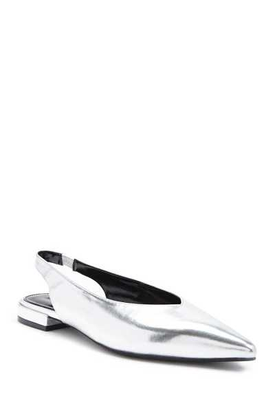 Forever 21 Pointed Faux Leather Flats