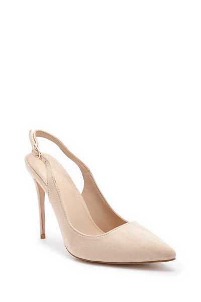 Forever 21 Pointed Slingback High Heels