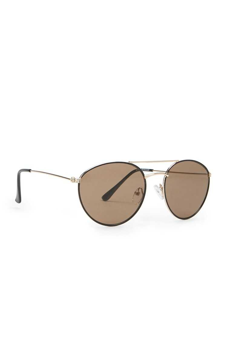 Forever 21 Thin Oval Sunglasses