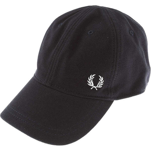 Fred Perry Hat for Women On Sale Navy Blue DK - GOOFASH - Mens HATS