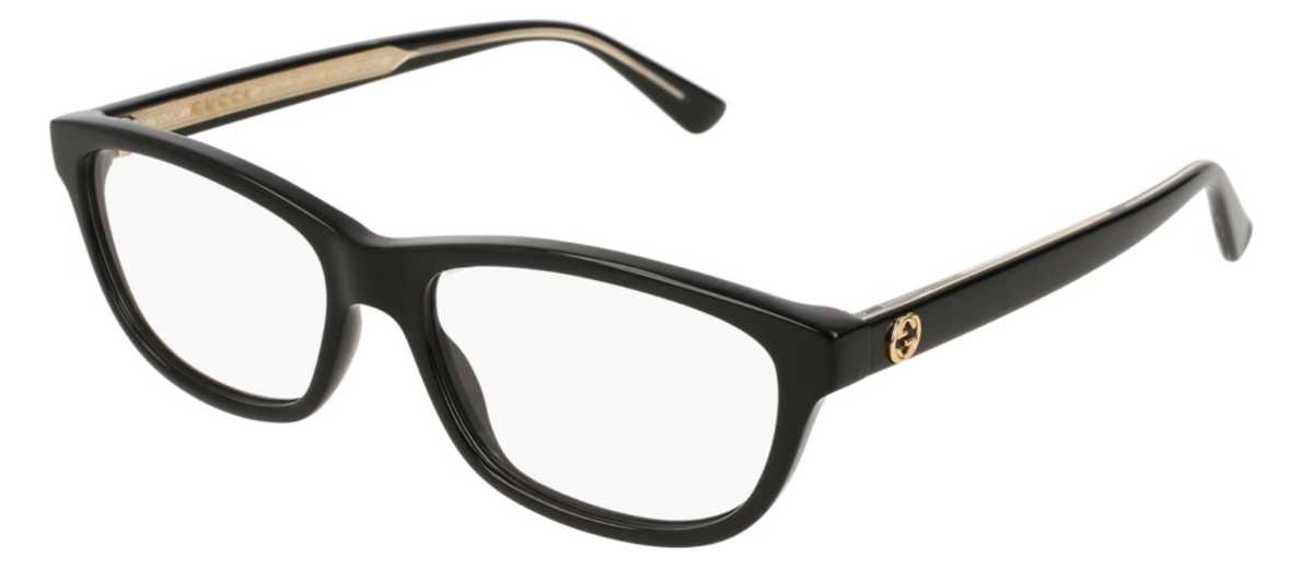Gucci GG 0315O Eyeglasses Black USA - GOOFASH - Womens SUNGLASSES