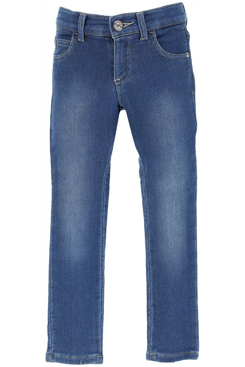 Gucci Kids Jeans for Girls On Sale in Outlet Blue Denim DK - GOOFASH - Womens JEANS