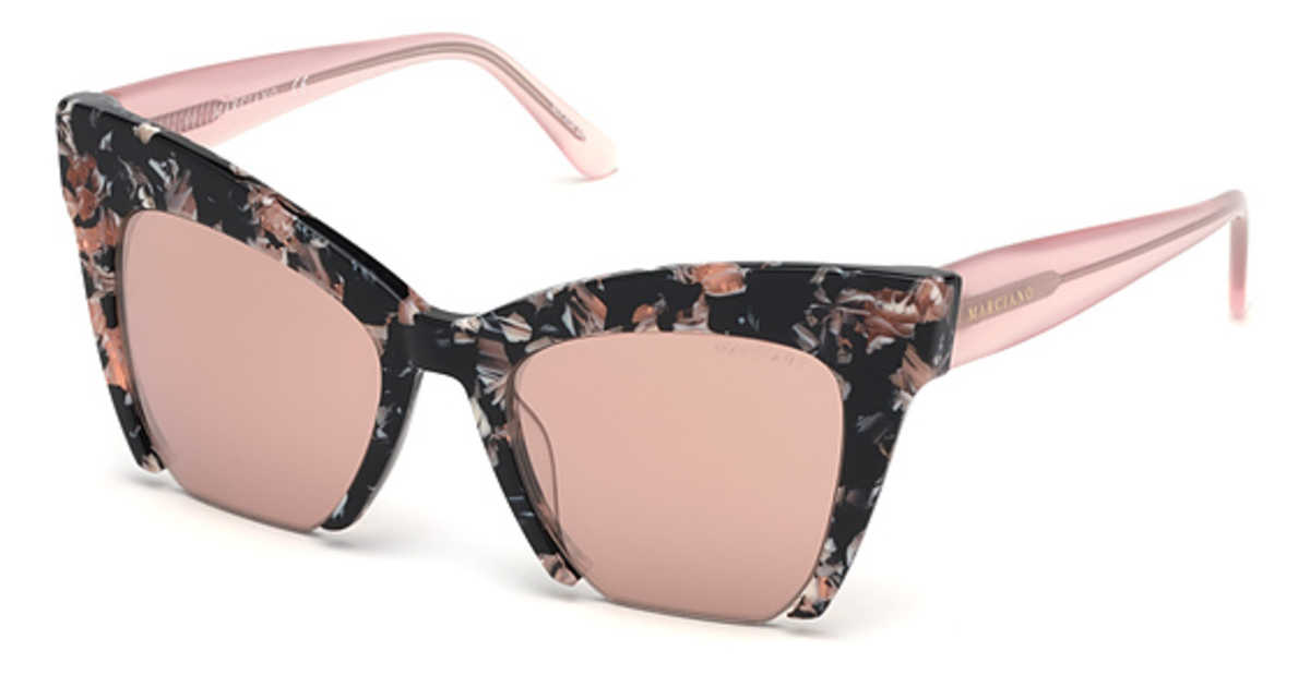 Guess GM 0785 Sunglasses Havana/Other USA - GOOFASH - Womens SUNGLASSES