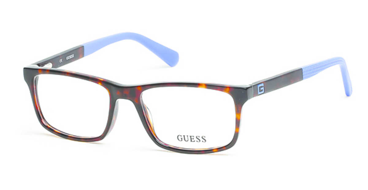 Guess GU 1878 Eyeglasses Dark Havana USA - GOOFASH - Mens SUNGLASSES