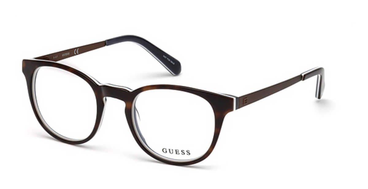 Guess GU 1959 Eyeglasses Dark Havana USA - GOOFASH - Mens SUNGLASSES