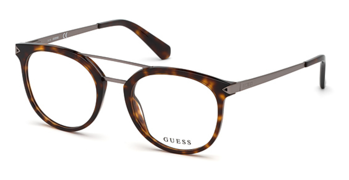 Guess GU 1964 Eyeglasses Dark Havana USA - GOOFASH - Mens SUNGLASSES