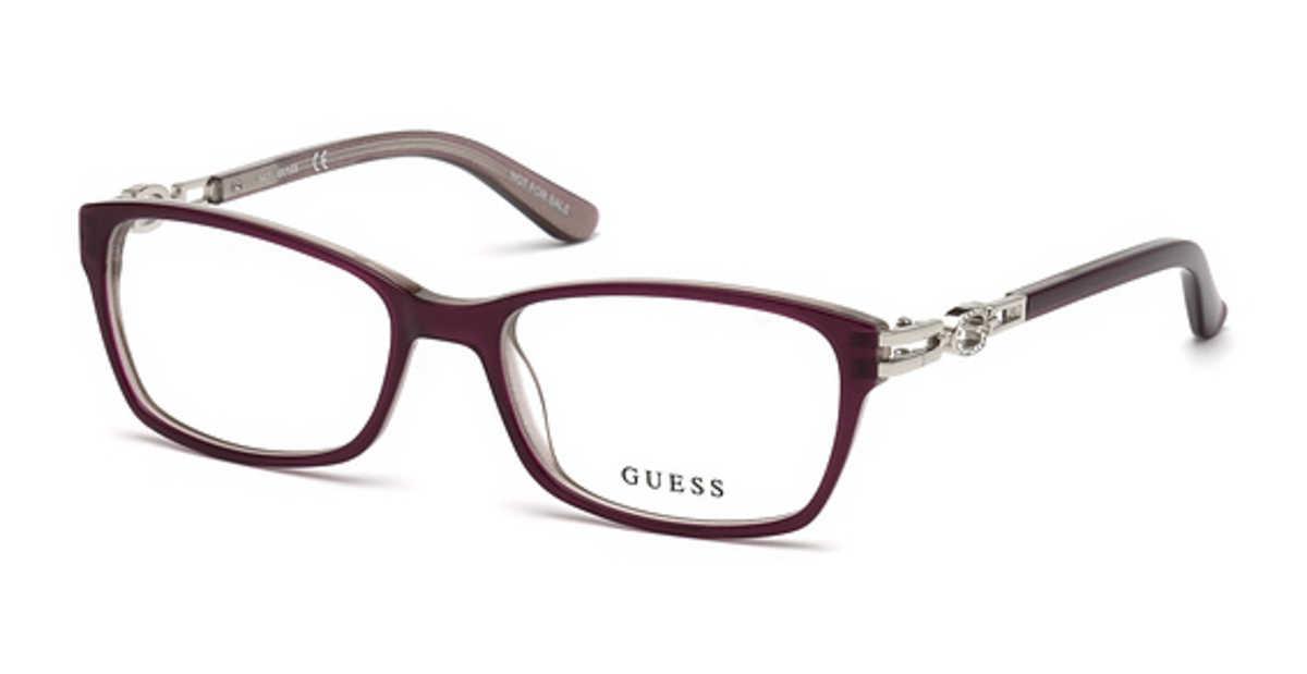 Guess GU 2677 Eyeglasses Violet/Other USA - GOOFASH - Womens SUNGLASSES
