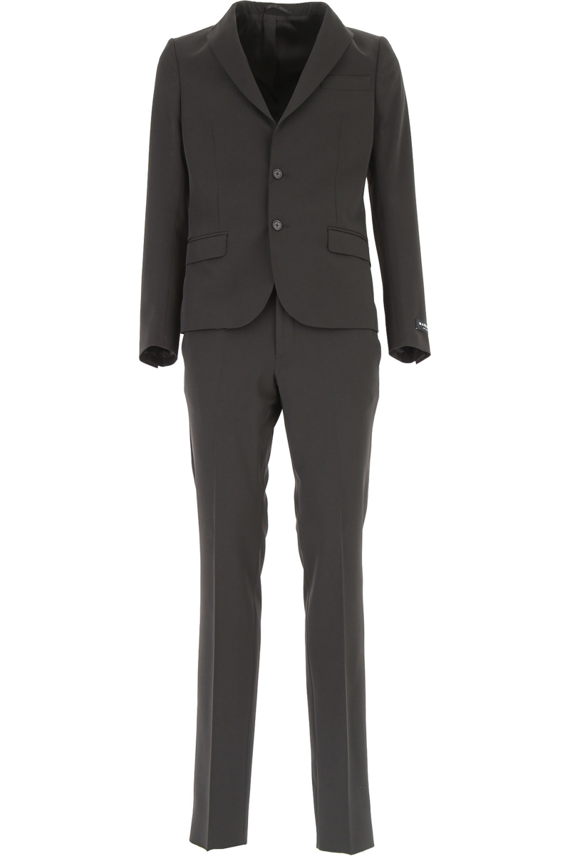 Guess Men's Suit On Sale Black DK - GOOFASH - Mens SUITS