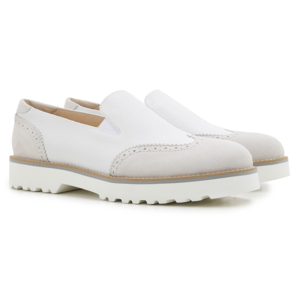 Hogan Loafers for Women On Sale in Outlet White DK - GOOFASH - Womens FLAT SHOES