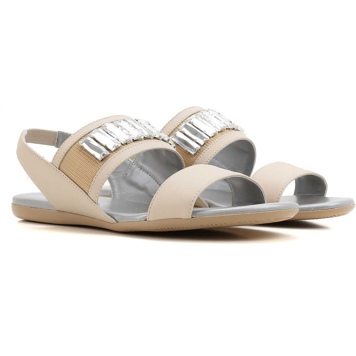 Hogan Sandals for Women On Sale in Outlet Turtledove DK - GOOFASH - Womens SANDALS
