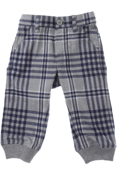 Il Gufo Baby Pants for Boys Grey DK - GOOFASH - Mens TROUSERS
