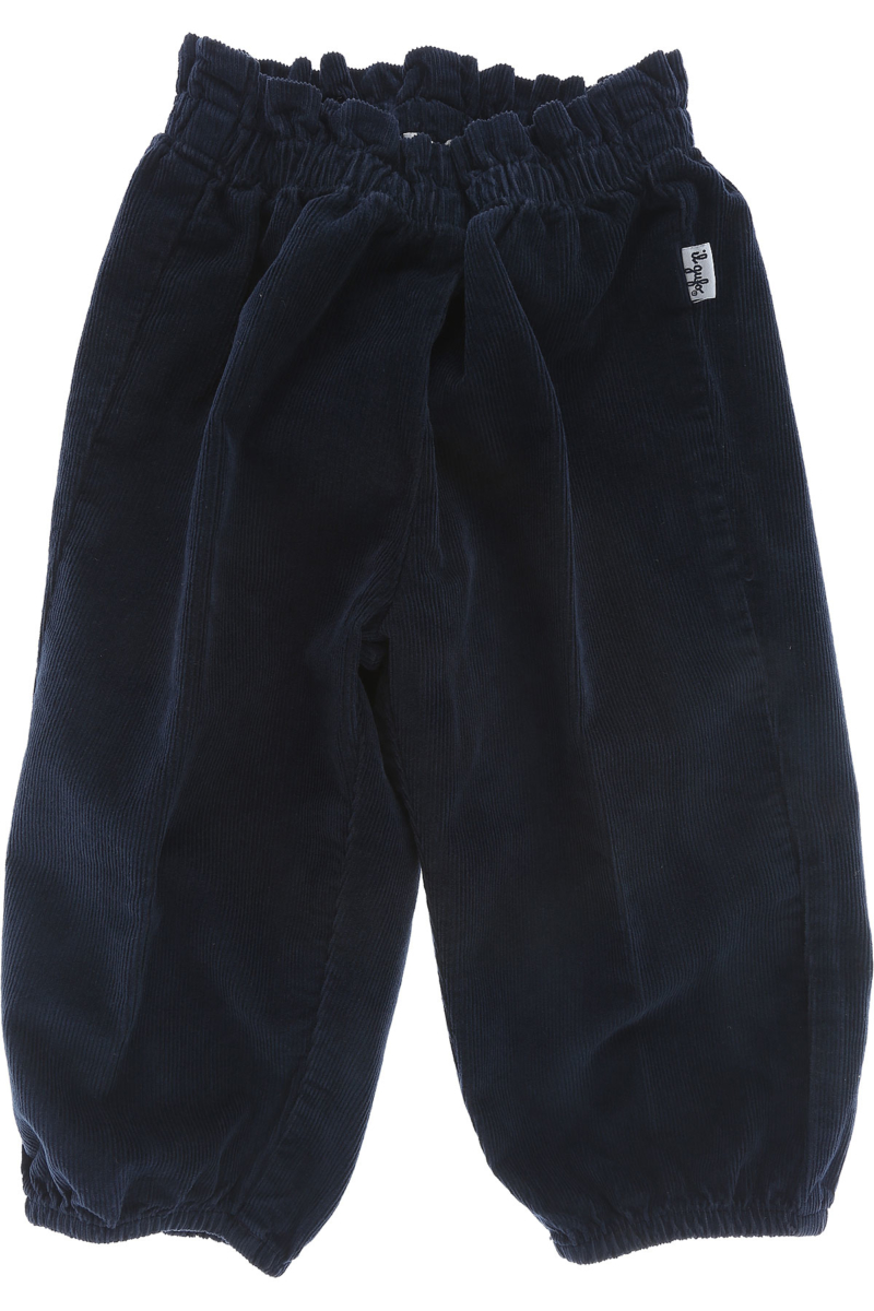 Il Gufo Baby Pants for Boys On Sale Blue DK - GOOFASH - Mens TROUSERS
