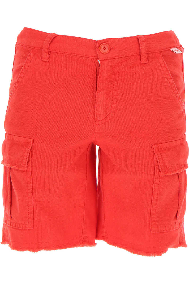 Il Gufo Kids Shorts for Boys On Sale Red DK - GOOFASH - Mens SHORTS