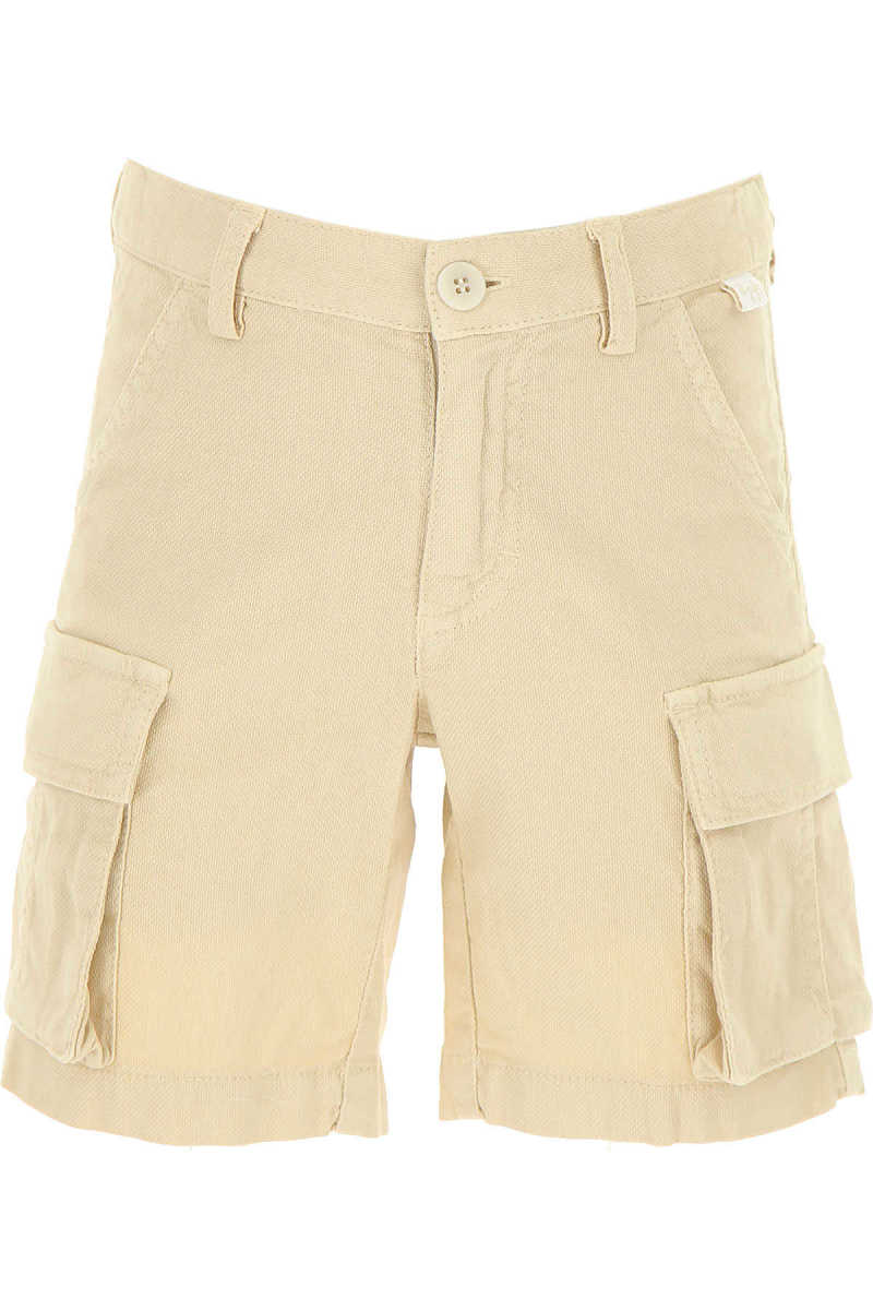 Il Gufo Kids Shorts for Boys On Sale in Outlet Beige DK - GOOFASH - Mens SHORTS