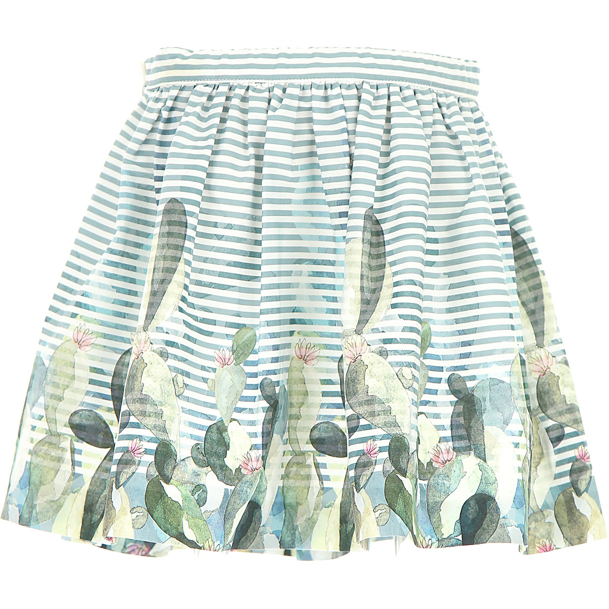 Il Gufo Kids Skirts for Girls On Sale in Outlet Green DK - GOOFASH - Womens SKIRTS
