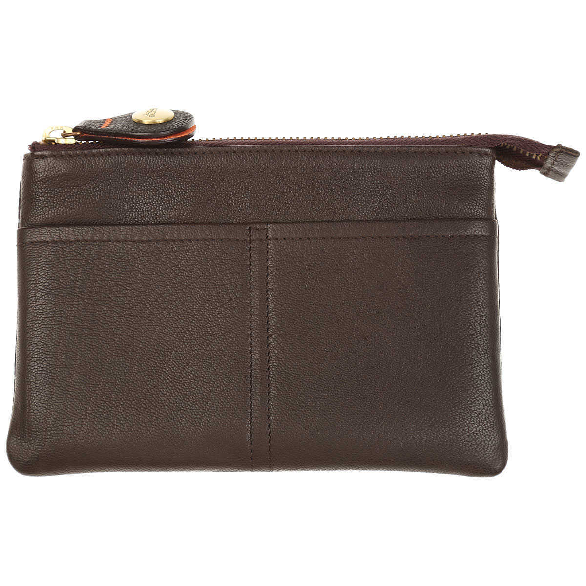 J.P. Gaultier Wallet for Men On Sale Dark Brown DK - GOOFASH - Mens WALLETS