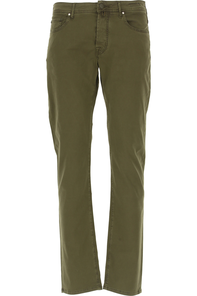 Jacob Cohen Jeans On Sale Military Green DK - GOOFASH - Mens JEANS