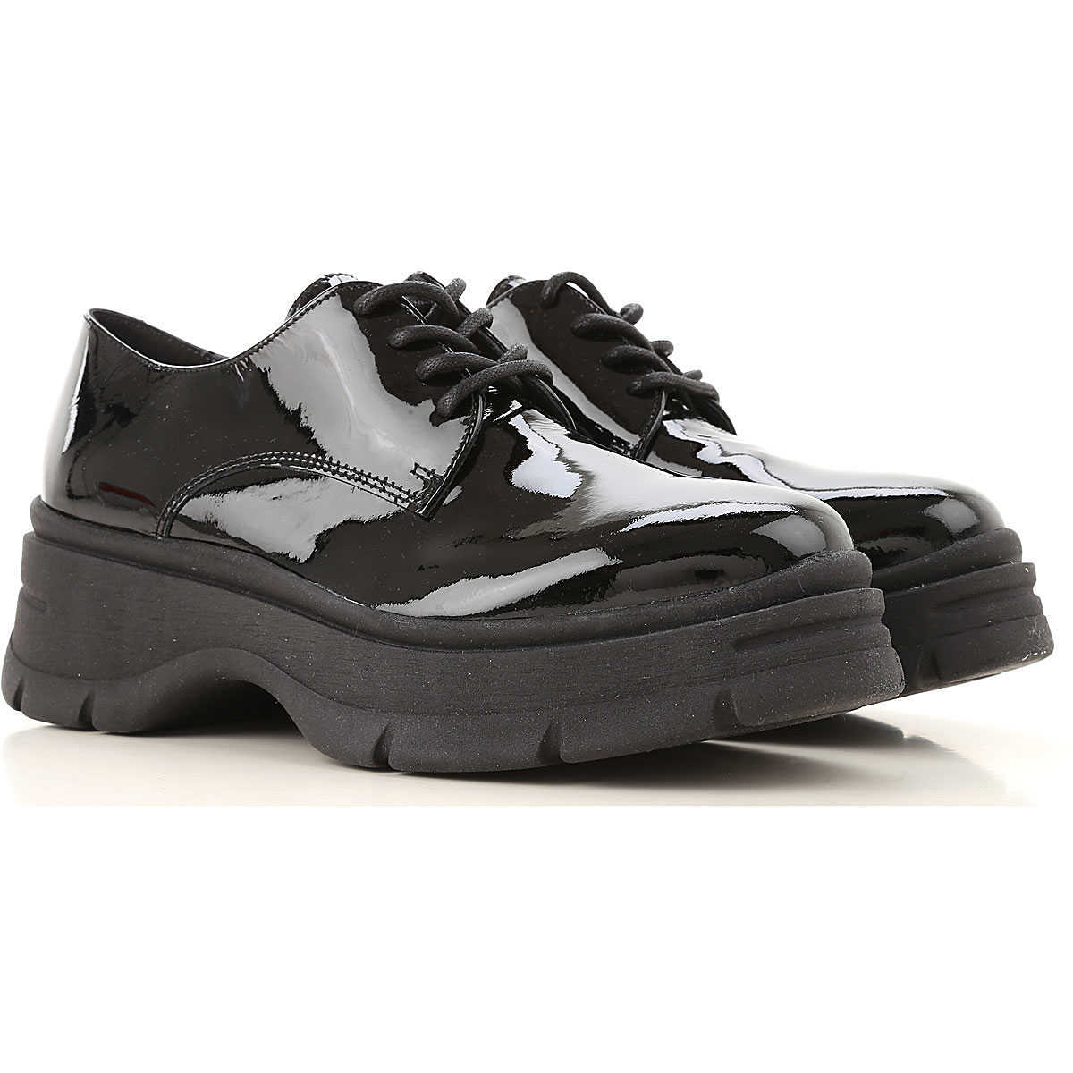 Janet & Janet Lace Up Shoes for Men Oxfords Derbies and Brogues DK - GOOFASH - Womens LEATHER SHOES