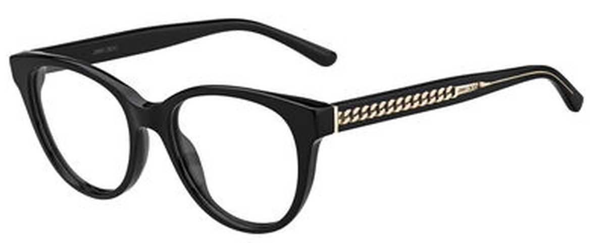Jimmy Choo Jimmy Choo 194 Eyeglasses Black USA - GOOFASH - Womens SUNGLASSES