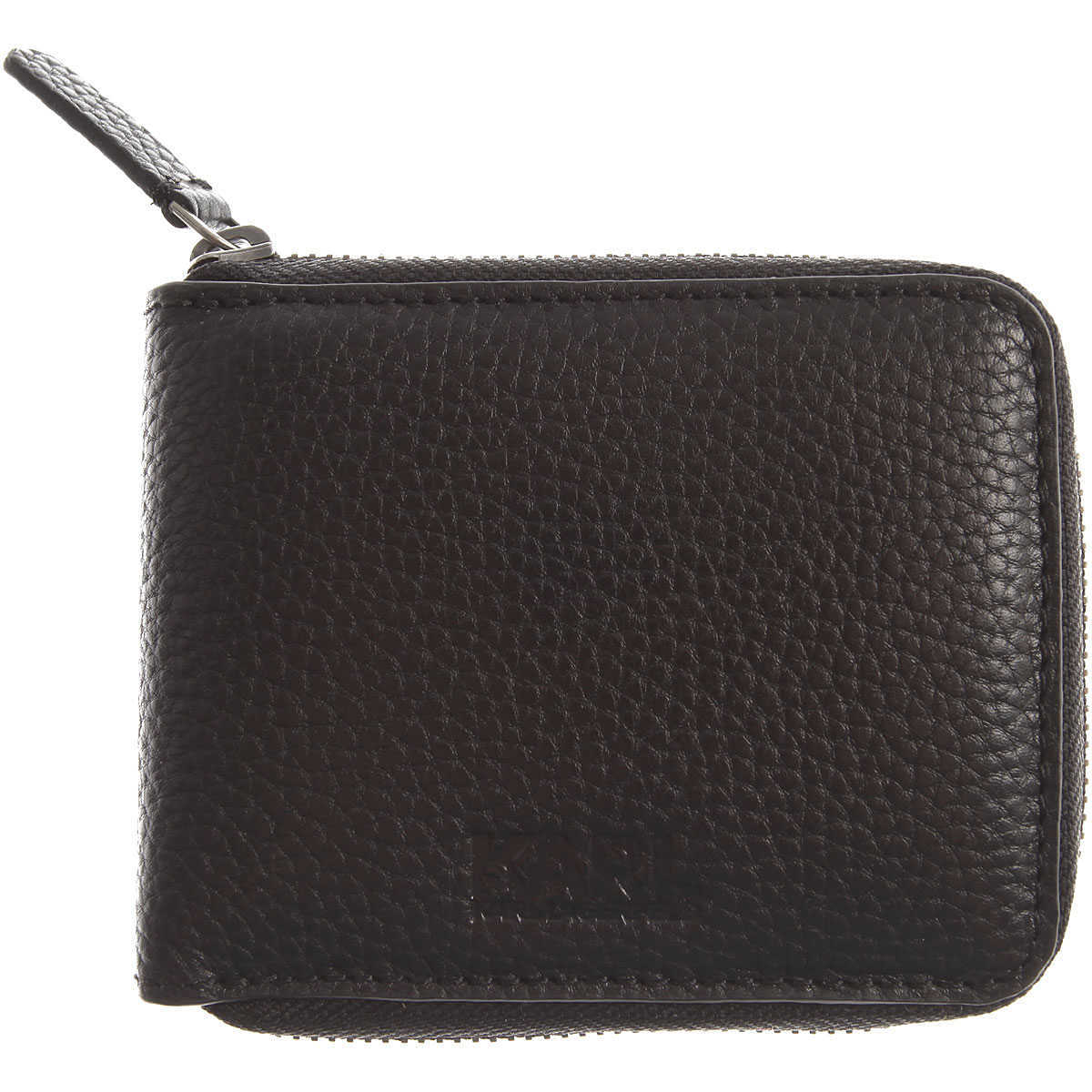 Karl Lagerfeld Wallet for Men On Sale Black DK - GOOFASH - Mens WALLETS
