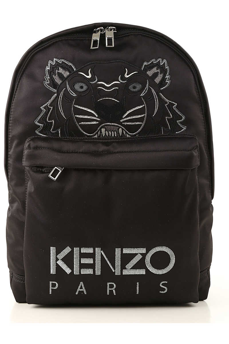 Kenzo Backpack for Men On Sale Black DK - GOOFASH - Mens BAGS