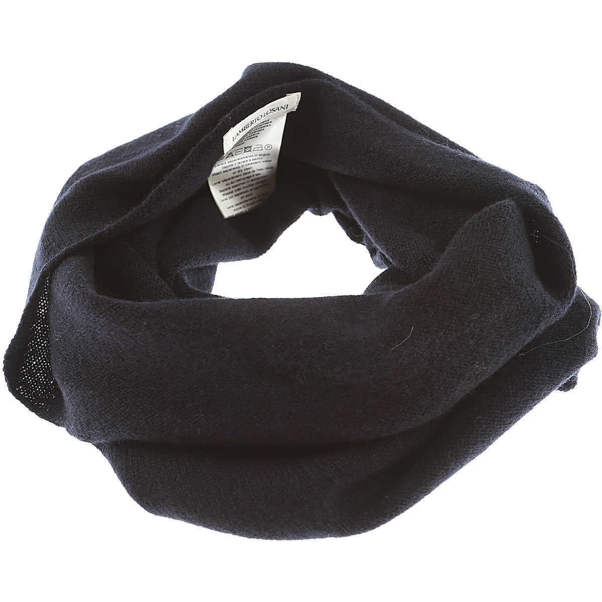 Lamberto Losani Scarf for Women On Sale Dark Midnight Blue DK - GOOFASH - Womens SCARFS