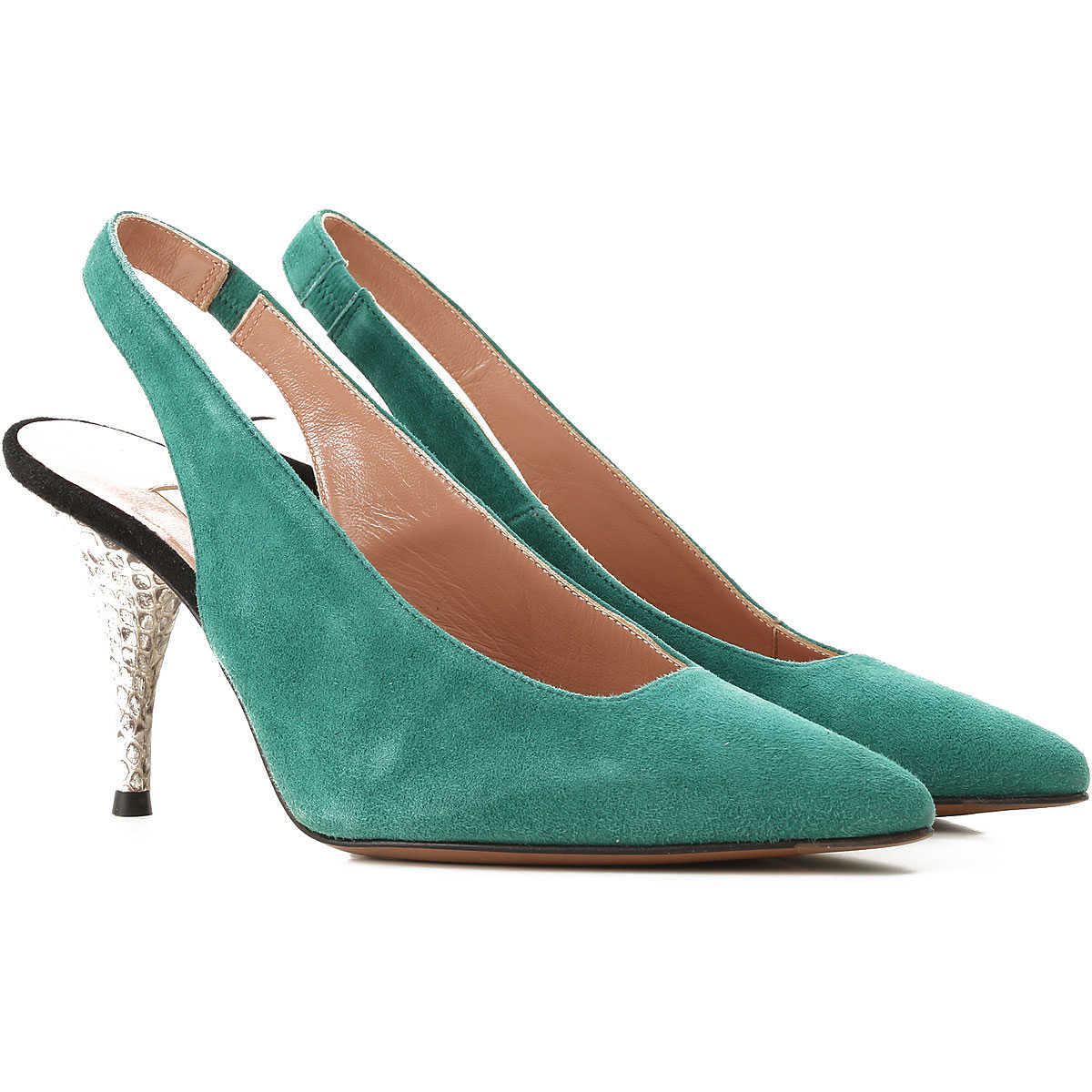 Lautre Chose Pumps & High Heels for Women On Sale in Outlet Green DK - GOOFASH - Womens HIGH HEELS