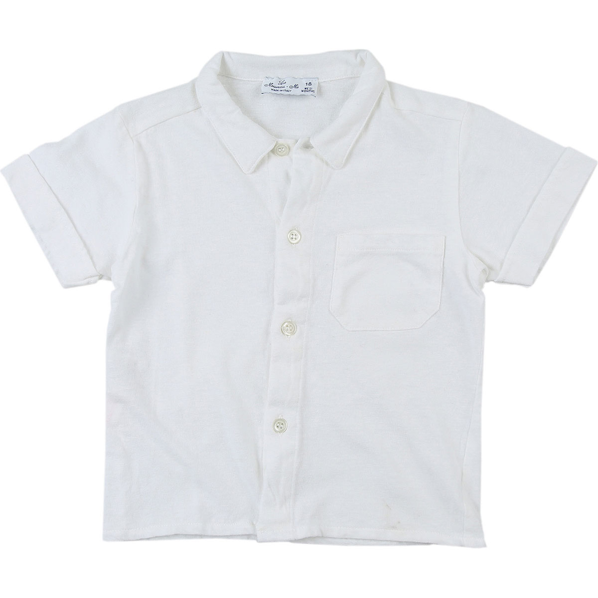 Le Nouveau Ne Baby Shirts for Boys On Sale in Outlet White DK - GOOFASH - Mens SHIRTS