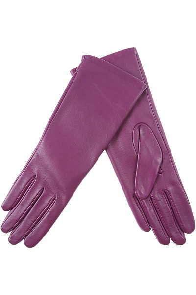 Liviana Conti Gloves for Women Violet DK - GOOFASH - Womens GLOVES