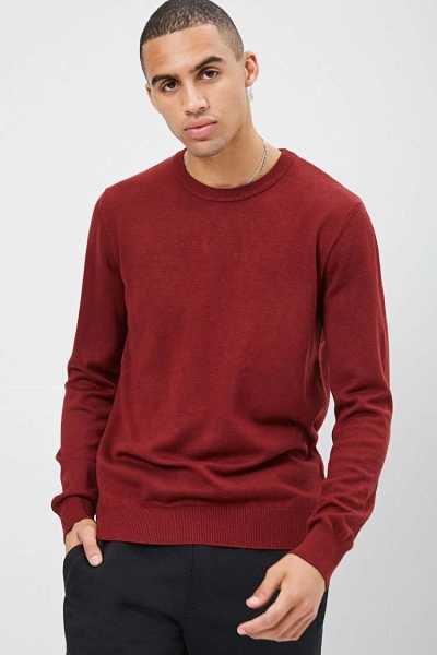 Long Sleeve Knit Sweater at Forever 21