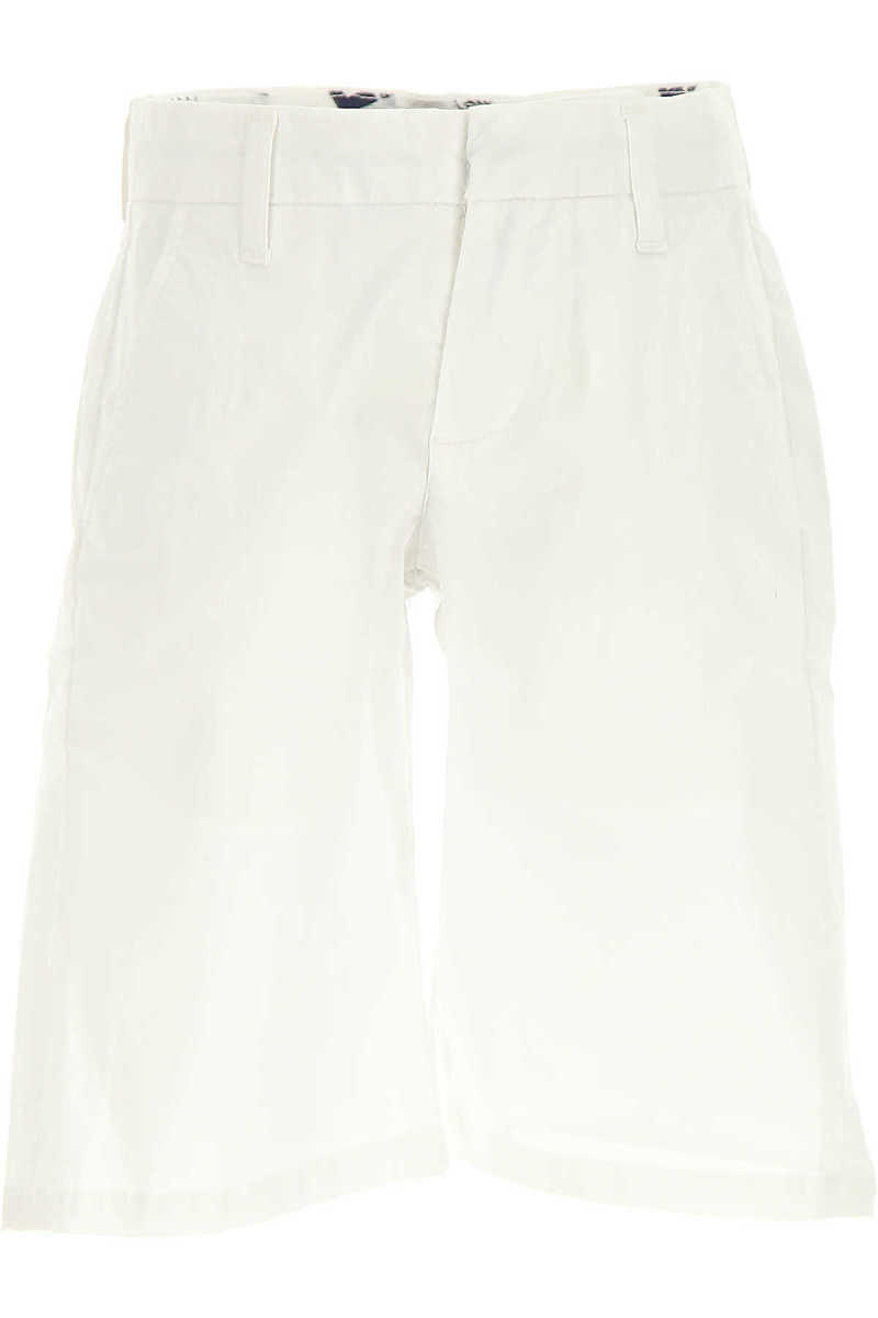 MSGM Kids Shorts for Boys On Sale in Outlet White DK - GOOFASH - Mens SHORTS