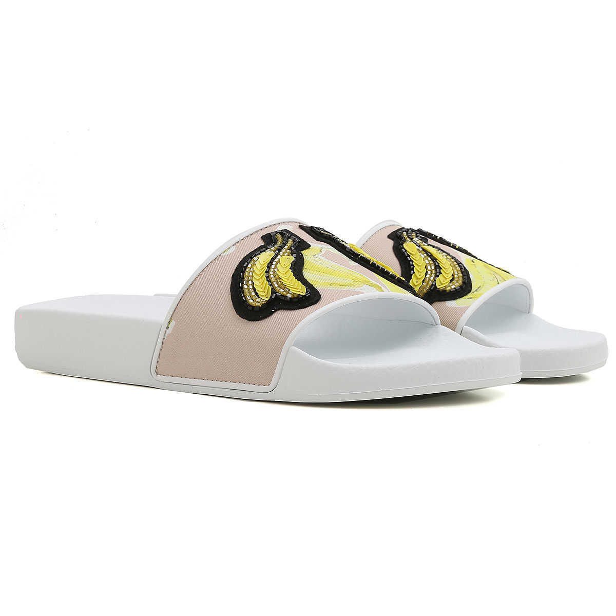 MSGM Sandals for Women On Sale in Outlet White DK - GOOFASH - Womens SANDALS