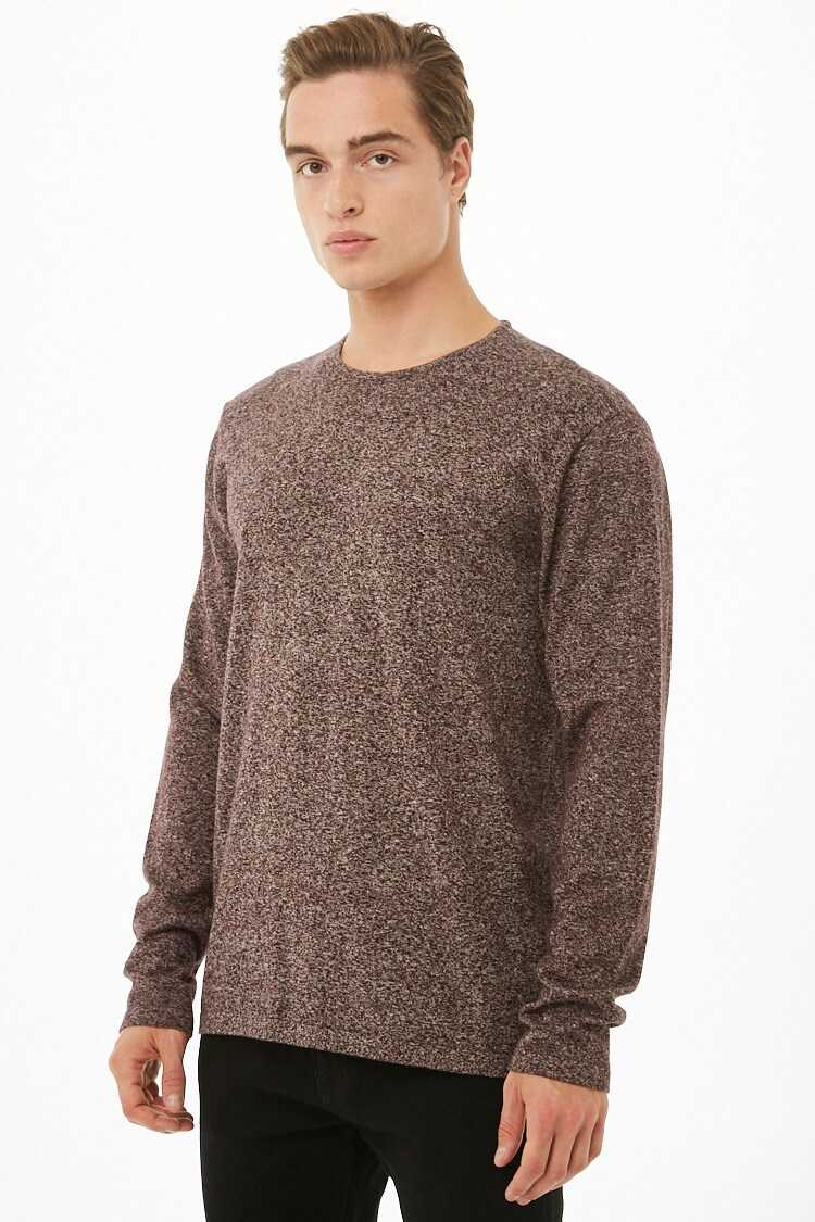 Marled Knit Sweater at Forever 21