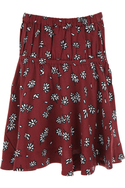 Marni Kids Skirts for Girls Bordeaux DK - GOOFASH - Womens SKIRTS