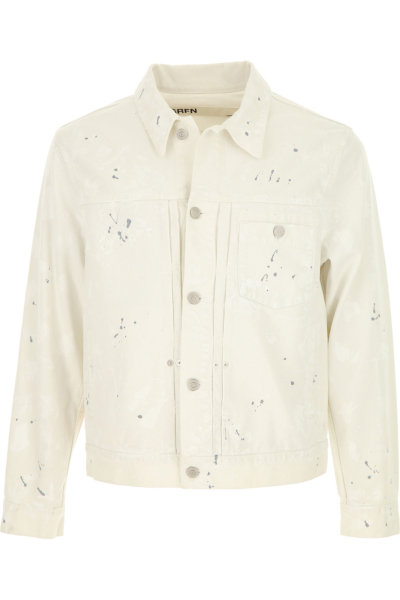 Mauro Grifoni Jacket for Men On Sale White DK - GOOFASH - Mens JACKETS