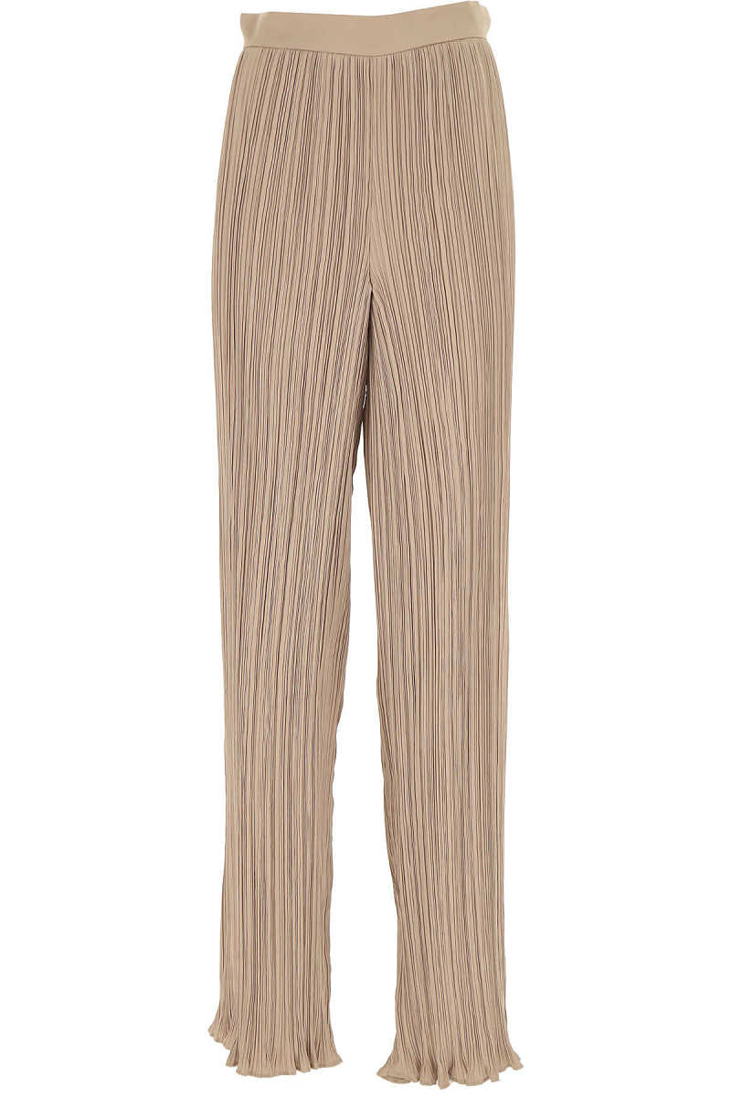 Max Mara Pants for Women On Sale Gold DK - GOOFASH - Womens TROUSERS