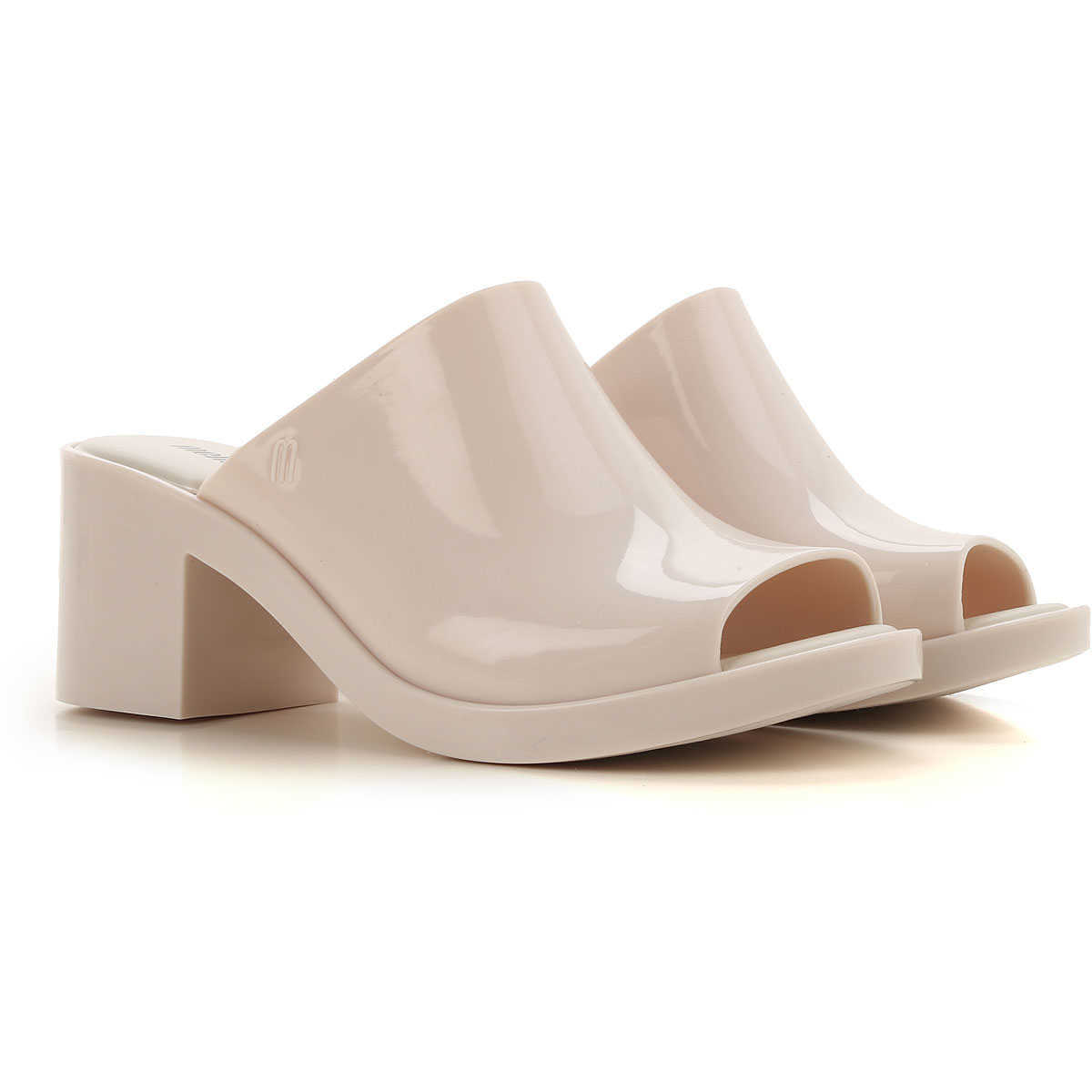 Melissa Wedges for Women On Sale Beige DK - GOOFASH - Womens HOUSE SHOES