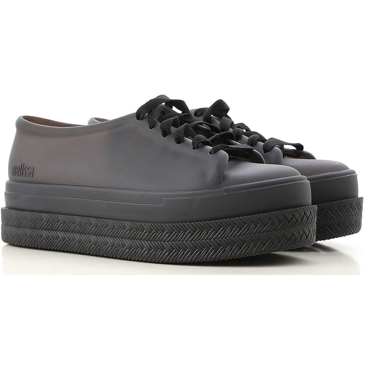 Melissa Wedges for Women On Sale Black DK - GOOFASH - Womens HOUSE SHOES