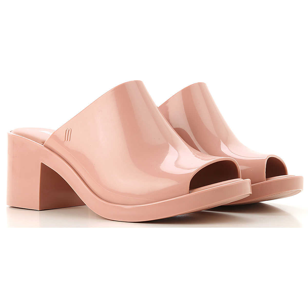 Melissa Wedges for Women On Sale Old Pink DK - GOOFASH - Womens HOUSE SHOES