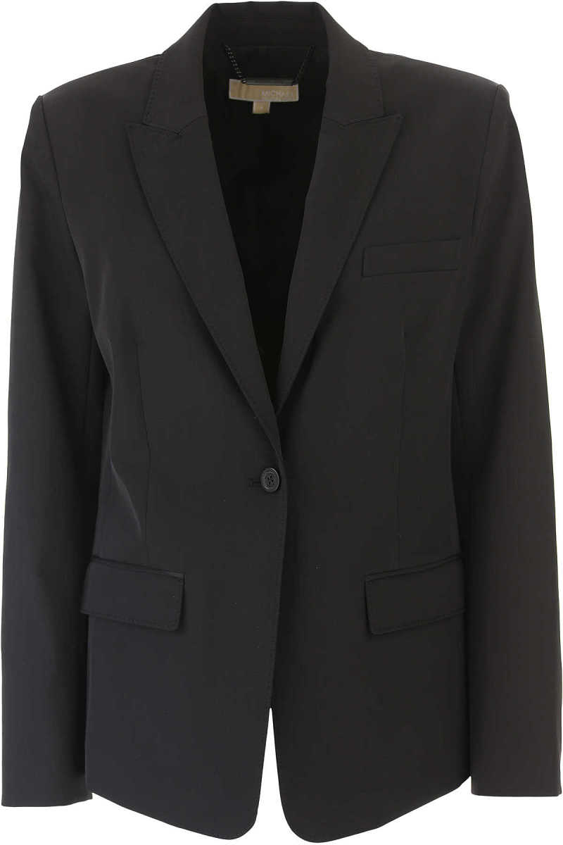 Michael Kors Blazer for Women On Sale in Outlet Black DK - GOOFASH - Womens BLAZER