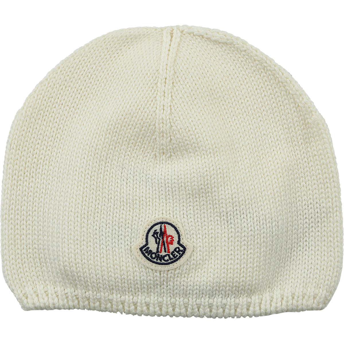 Moncler Kids Hats for Girls On Sale in Outlet Cream DK - GOOFASH - Womens HATS