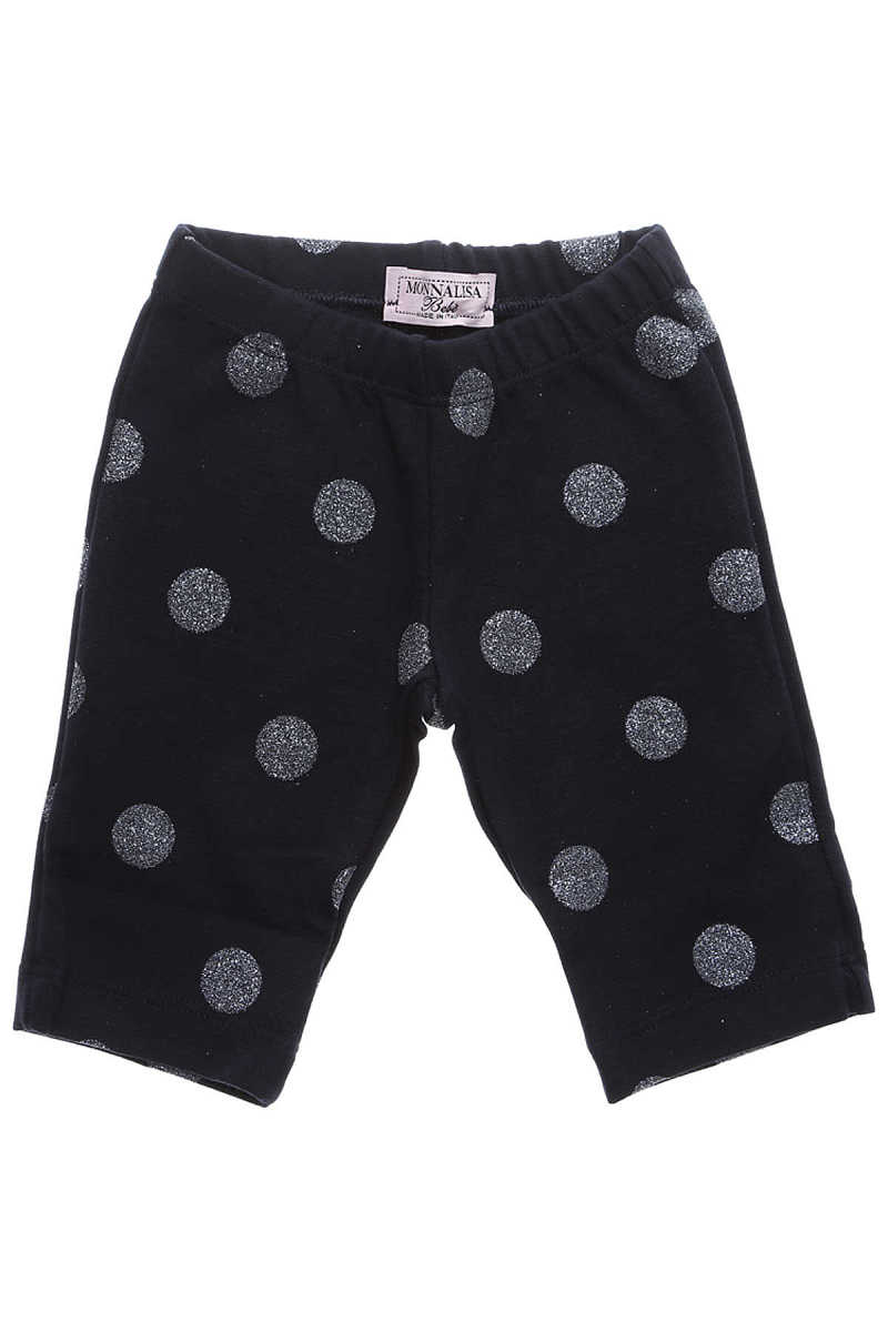 Monnalisa Baby Pants for Girls On Sale in Outlet Blue DK - GOOFASH - Womens TROUSERS