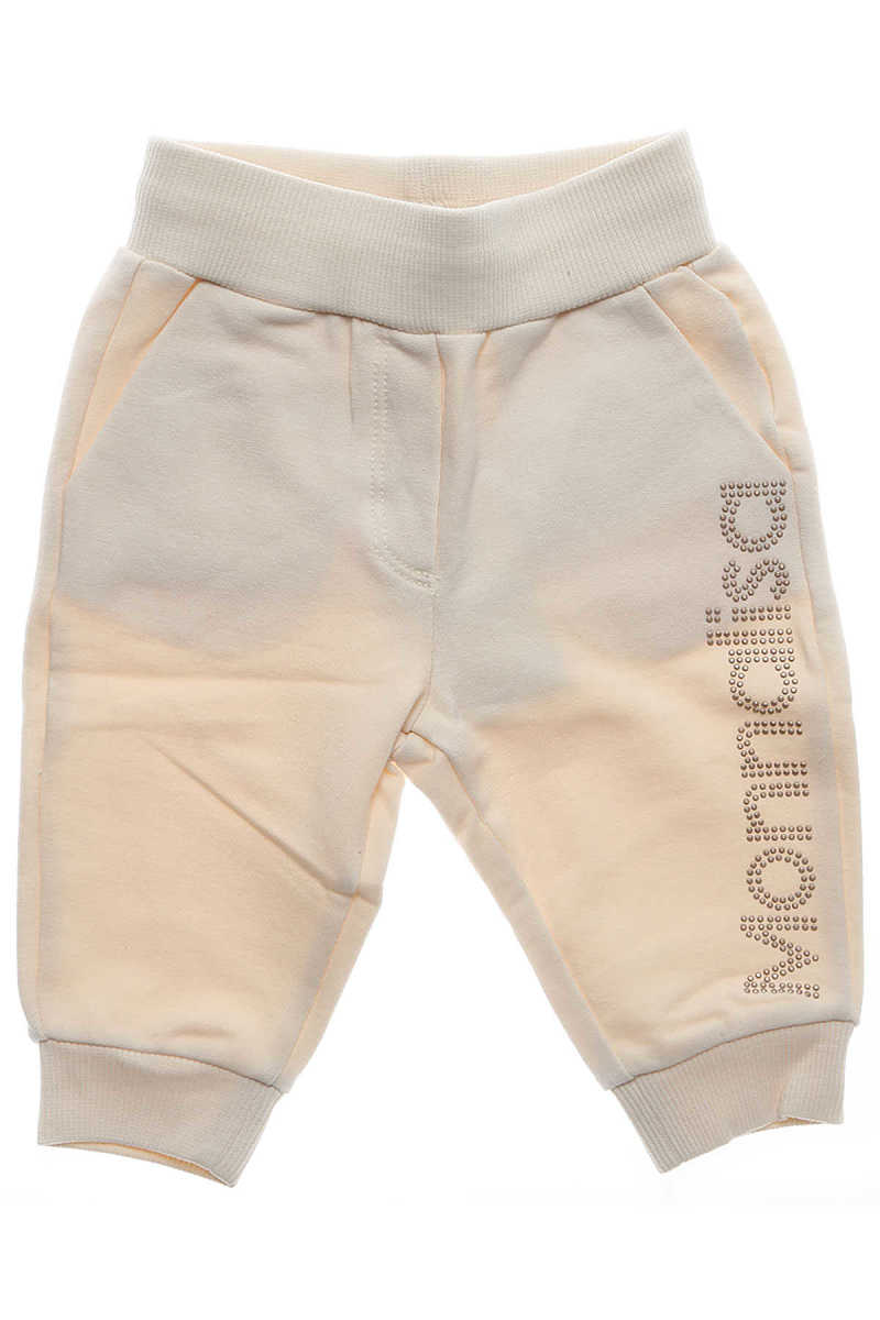 Monnalisa Baby Sweatpants for Girls On Sale in Outlet Beige DK - GOOFASH - Womens TROUSERS