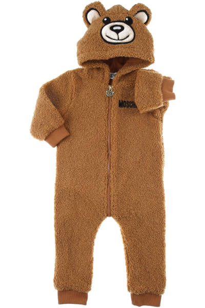 Moschino Baby Bodysuits & Onesies for Boys Camel DK - GOOFASH - Mens SUITS